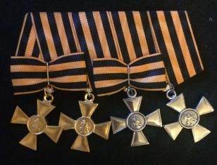 Георгиевский бант солдатских крестов