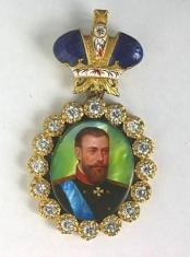 Наградной портрет Императора Александра III Александровича