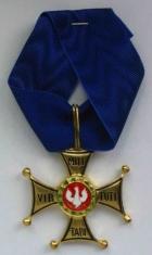Крест ордена ВирТути Милитари 3 ст.