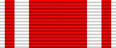 Лента  ордена Святого Станислава (10 х 200 см., шёлк, муар)
