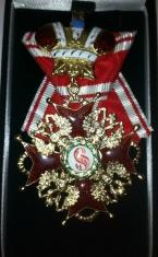 Крест ордена Святого Станислава 2 ст. (с короной)