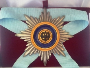 Звезда ордена Святого Андрея Первозванного лучевая. (Иноверцы)
