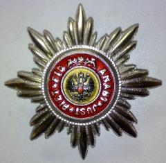 Звезда ордена Святой Анны лучевая. (Иноверцы)