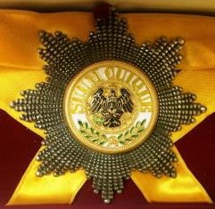 Звезда Ордена Чёрного Орла (Пруссия) (Гранёная)