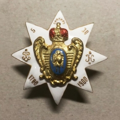 Знак 5-го гренадерского Киевского полка Его Императорского Высочества Наследника Цесаревича
