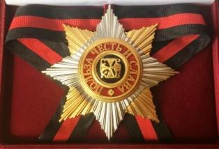 Звезда ордена Святого Владимира лучевая v.2