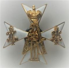Знак 145-го пехотного Новочеркасского Императора Александра III полка