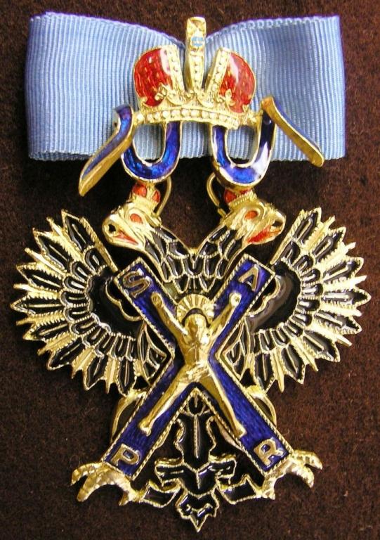 Крест орд.Св .Андрея Первозванного
