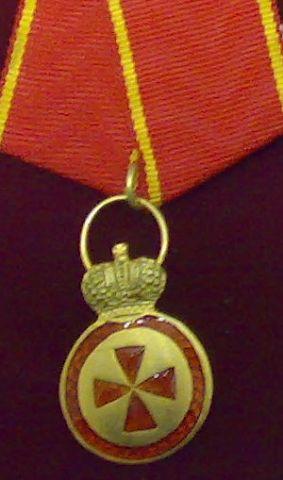 Аннинская медаль  (знак отличия ордена Св. Анны)