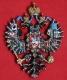Герб Российской Империи большой (с хрусталём Swarovski)