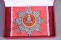 Звезда ордена Святой Екатерины (с хрусталем)