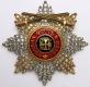 Звезда ордена Святого Владимира (с верхними мечами, с хрусталем swarovski)