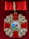 Крест ордена Святого Александра Невского большой (с хрусталем swarovski)
