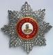 Звезда ордена Святого  Александра Невского (с хрусталем swarovski)