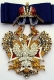 Крест ордена Белого орла (с хрусталем swarovski)