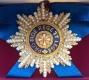 Звезда орден Белого орла (с хрусталём и жемчугом swarovski)