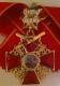 Крест ордена Святой Анны 1 ст. (с верхними мечами, с короной)