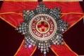 Звезда ордена Святой Анны (с хрусталем swarovski)
