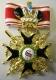 Крест ордена Святого Станислава 2 ст. (с мечами, с короной,чёрной эмали)