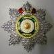 Звезда ордена Святого Станислава (с короной,с хрусталем swarovski)