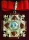 Крест ордена Святого Александра Невского большой с опущенными крыльями (с хрусталем swarovski)