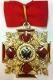 Крест ордена Святого Александра Невского средний для иноверцев (с опущенными крыльями у орлов)